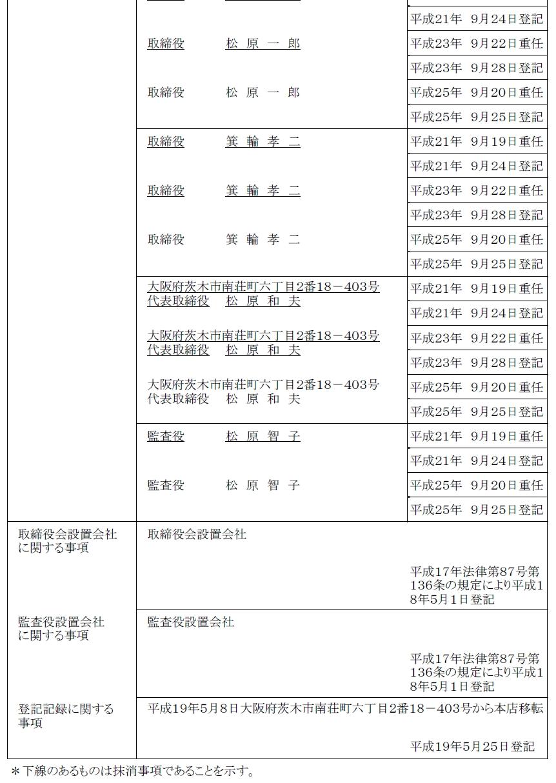 法人 登記 簿 謄本 オンライン